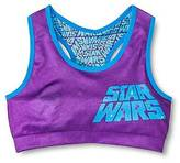 Star Wars Girls' Racer Sports Bra - Multicolored