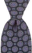 Daniel Cremieux Florette Medallion Traditional Silk Tie