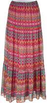Diane von Furstenberg printed maxi skirt - women - Silk/Polyester - M