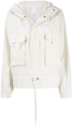 Reebok x Victoria Beckham x Victoria Beckham short hooded jacket