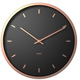 Degree Umber Noir Clock