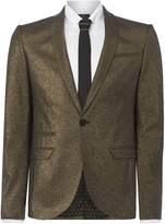 Men's Label Lab Bonham Metalic skinny blazer