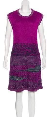 Chanel Knit A-Line Dress