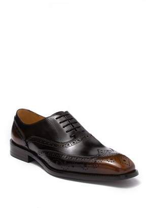 MAISON FORTE Marshal Leather Wingtip Derby