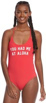 Spiritual Gangster You Had Me At Retreat One Piece Swimsuit 8158536