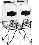 Asstd National Brand Blackboard 3-pc. Beverage Dispenser Set