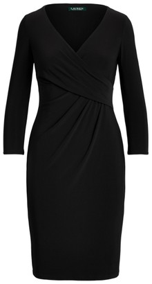 Ralph Lauren Surplice Jersey Dress