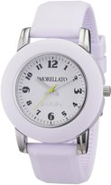 Morellato Women's R0151100011 Colours White silicone band watch.