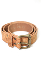 Brave Leather Ltd. Baxter Leather Belt in Cognac