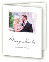 Minted Romantic Frame Thank You Cards