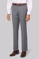 DKNY Slim Fit Neutral Pindot Trousers
