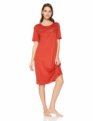 Hanro Women's Liv Short Sleeve Gown