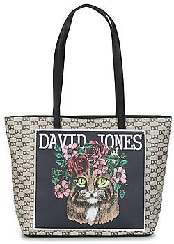 David Jones CM5107 women's Shopper bag in Beige