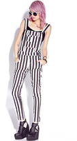 Forever 21 Standout Striped Overalls