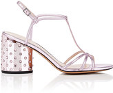 Marc Jacobs Women's Sheena Metallic Leather T-Strap Sandals
