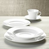 Crate & Barrel White Pearl 5-Piece Place Setting