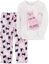 Carter's 2-Pc. Cat's Pajamas Pajama Set, Little Girls (4-6X) and Big Girls (7-16)