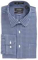 Nordstrom Men's Big & Tall Smartcare(TM) Trim Fit Check Dress Shirt