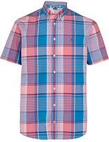 Tommy Hilfiger O Connor Short Sleeve Shirt, Pink/blue
