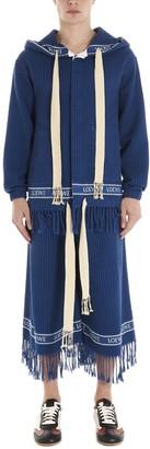 Loewe Fringed Hooded Jacket