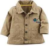Carter's Cotton Canvas Jacket, Baby Boys (0-24 months)