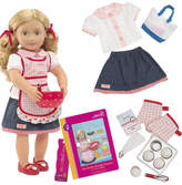 "Our Generation Jenny 18"" posable doll With Book"