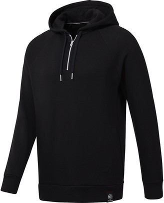 Reebok Men's 1/2 Zip Over The Head Hoodie Sweater