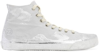 Maison Margiela Suede High Top Sneakers