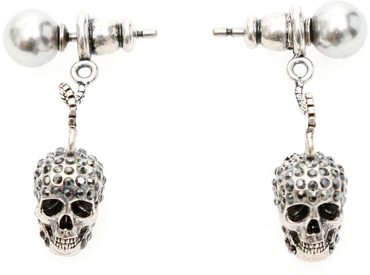 647ce03c2 Skull Stud Earrings - ShopStyle