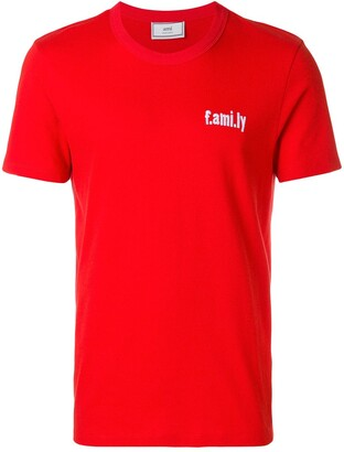Ami T-shirt with family embroidery