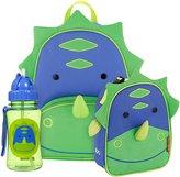 Skip Hop Zoo Backpack, Lunchie & Straw Bottle Set - Dinosaur