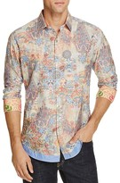 Robert Graham Limited Edition Paisley Print Classic Fit Button-Down Shirt