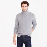 J.Crew Italian cashmere cable turtleneck sweater