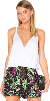 Chaser Draped Surplice Cami