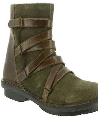 Fly London Leather Strapped-Front Boot