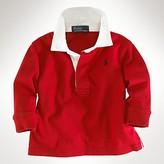 Ralph Lauren Childrenswear Boys' Long Sleeve Rugby Cotton Jersey Shirt - Sizes S-XL