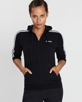 adidas Essential 3-Stripes Full-Zip Hoodie