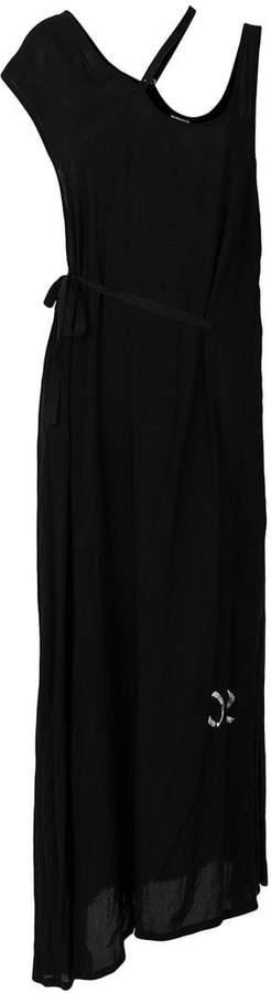 Ann Demeulemeester asymmetric maxi dress
