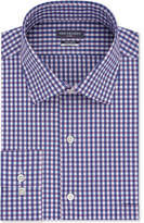 Van Heusen Men's Classic Fit Wrinkle-Free Flex Collar Stretch Gingham Dress Shirt