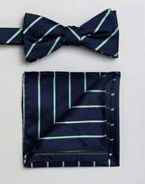 Selected Bow Tie & Pocket Square