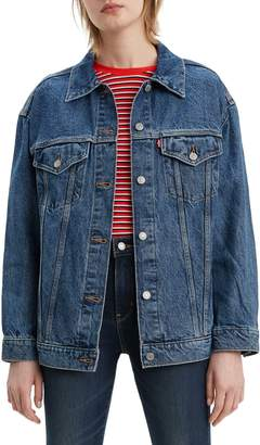 Levi's Worlds Apart Baggy Denim Trucker Jacket
