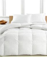 Calvin Klein Medium Warmth Down Twin Comforter, Premium White Down Fill, 100% Cotton Cover, True Baffle Box Construction