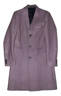 Acne Studios Purple Wool Coats