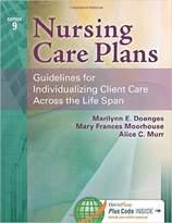 Nursing Care Plans By Doenges, Marilynn E./ Moorhouse, Mary Frances/ Murr, Alice C.