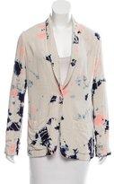 Raquel Allegra Silk Tie-Dye Blazer