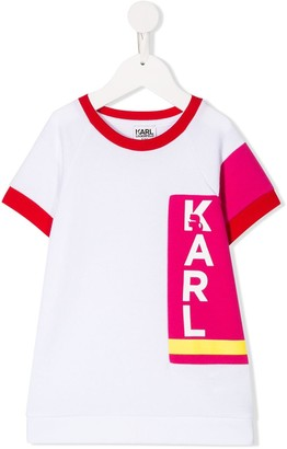 Karl Lagerfeld Paris Block Logo T-shirt