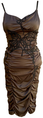 Jitrois Brown Silk Dresses