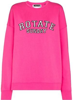 Rotate by Birger Christensen Iris crew neck sweatshirt