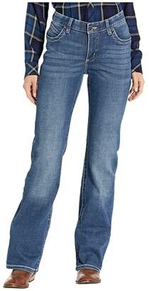 Wrangler Willow Mid-Rise Riding Bootcut Jeans (Davis) Women's Jeans