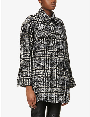 The Kooples Checked woven shirt